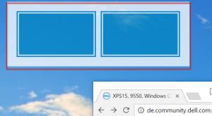 Xps serie feature beim fenster verschieben wie schalt for Fenster verschieben